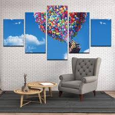 Up Movie Kevin Russell Balloon House 5 Panel Canvas Print Wall Art Gotithere Com