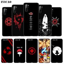 IYICAO Naruto Shippuden Logo Soft Case for Huawei P30 P20 P10 P9 P8 P Smart  Z Plus 2019 Lite Pro 2018 2017 2016 TPU|Fitted Cases