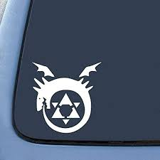 Full Metal Alchemist Anime Homunculus Sticker Decal Notebook Car Laptop Wish