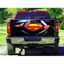 Amazon Com Superhero Superman Tailgate Wrap Truck Decal Tailgate Sticker Gc2464 Baby