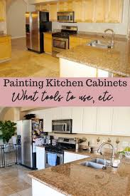 we painted our kitchen cabinets