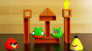 Angry Birds Knock On Wood Super Game level 1 - YouTube