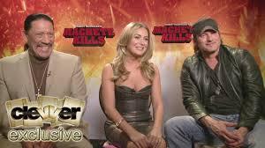 Danny Trejo, Alexa Vega & Robert Rodriguez Talk MACHETE KILLS - YouTube