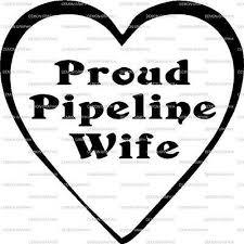 Proud Pipeline Wife In Heart Vinyl Decal Sticker Truck Car Window Ebay
