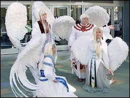 making large angel wings hcc cosplay