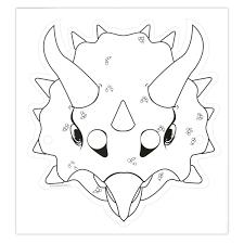 Afbeeldingsresultaat Voor Dino Masker Maken Kleurplaten Masker