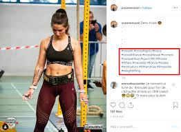 start a fitness insram account