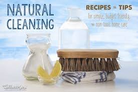 natural cleaning tips recipes