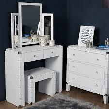 blitz white bedroom set dressing table