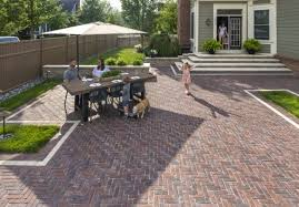 concrete pavers or brick for your