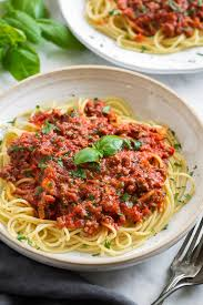 spaghetti sauce easy recipe authentic