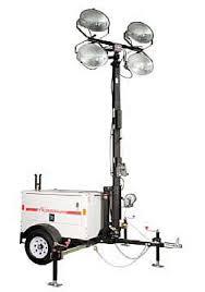 4000 watt light tower action