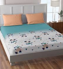 aprica cotton 180tc king size bedsheet