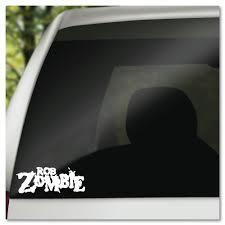 Rob Zombie Name Logo Vinyl Decal Sticker Etsy