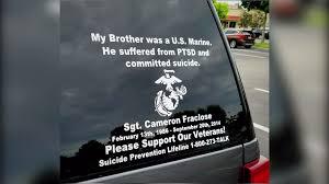 Stranger Leaves Heartfelt Note For Veteran Who Lost Brother To Ptsd