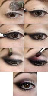 homeing makeup pastel hair goth
