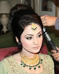 arabic wedding makeup and hair