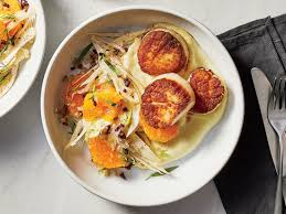 Pan-Seared Scallops With Fennel and ...