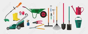 gardening tools for working in the
