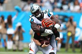 Panthers' Nigerian-born Efe Obada: NFC defensive player of the week