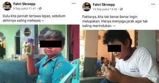 status galau fahri skroepp bocah sadboy yang lagi viral