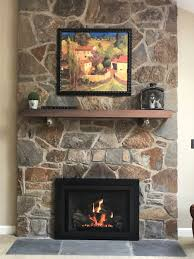 fireplace mantels stone facing