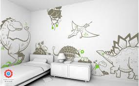 Dinosaur Wall Decals For Boys Room Wall Decor
