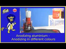 diy multi color anodizing of aluminum