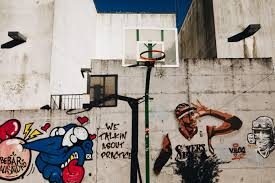 Allen Iverson Of Sixers Graffiti Wall Art Basketball Basket Basketball Court Buildin Arts And Crafts Interiors Arts And Crafts For Teens Art And Craft Videos