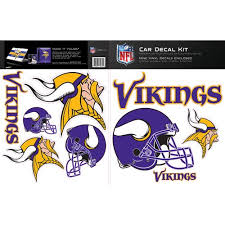 Skinit Minnesota Vikings Car Decal Kit Walmart Com Walmart Com