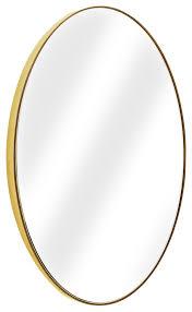 oval wall vanity infinity mirror