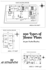 house plans as per vastu shastra ebook