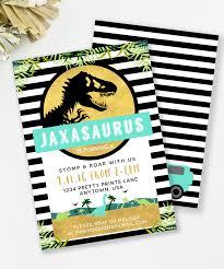 Jurassic Park Inspired Dinosaur Party Free Printable Dino Party