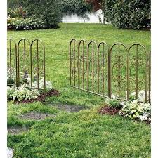 Zippity Outdoor Products 30 In X 58 In Madison No Dig Vinyl Picket Garden Fence Reviews Decorative Garden Fencing Metal Garden Fencing Iron Garden Gates