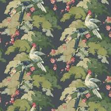 jungle jive wallpaper in midnight