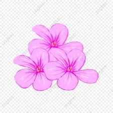 التصوير البنفسجي قصاصة فنية حقيقة زهور Png وملف Psd للتحميل مجانا