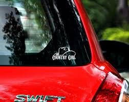 Country Girl Decal Etsy