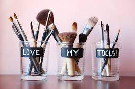 cleaning your makeup brushes step by