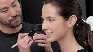 makeup artist full face