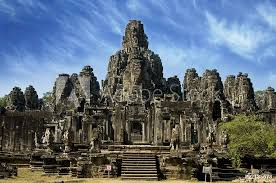 Ancient Temple In Angkor Wat Cambodia Sticker Wall Decals Johnnychaos