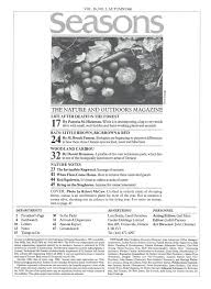 on nature magazine autumn 1986 page