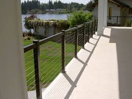 Cable Railing Systems Modern Style With Minimum View Obstruction Durable Low Maintenance And Innovative Design