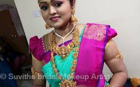 suvitha bridal makeup artist in chinna