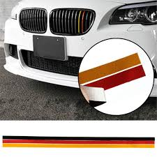 M Sport Grille Grill Vinyl Strip Sticker Decal For Bmw M3 M5 E46 E90 German Flag Sale Banggood Com