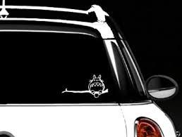 Amazon Com Totoro Car Window Decal Vinyl Sticker Automotive