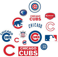 Amazon Com Fathead Mlb Chicago Cubs Chicago Cubs Logo Assortment Large Officially Licensed Mlb Removable Wall Decals Sports Fan Wall Banners Sports Outdoors