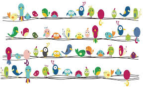 Amazon Com Decalmile Colorful Birds Wall Stickers Kids Room Wall Decor Peel And Stick Removable Vinyl Wall Decals For Kids Bedroom Baby Room Nursery Playroom Home Improvement