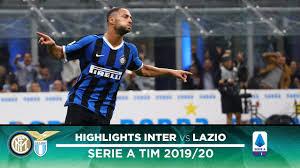 INTER 1-0 LAZIO | HIGHLIGHTS | D'Ambrosio scores, our run ...