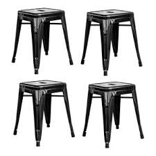 Amerihome Loft Set Of 4 18 Metal Bar Stools Industrial Kids Chairs By Clickhere2shop