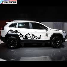Mountain Outdoor Sport Decals Car Styling Door Side Decor Sticker For Jeep Grand Cherokee Compass Auto Body Vinyl Decal Car Stickers Aliexpress
